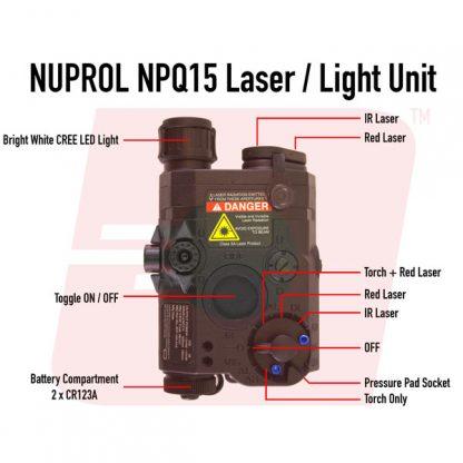 Nuprol NPQ15 Laser / Light Unit