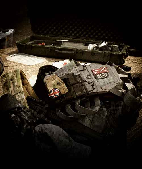 tac vest and accessories