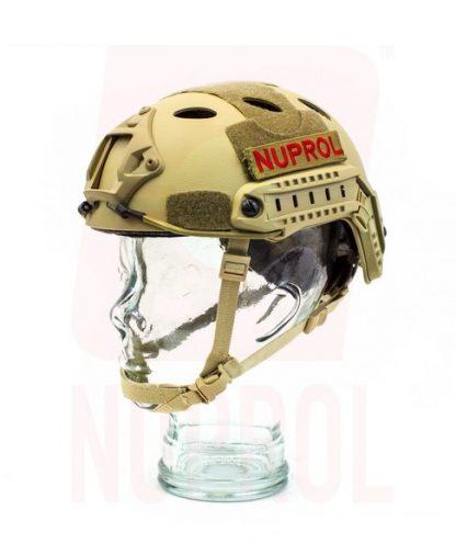 Nuprol tan helmet