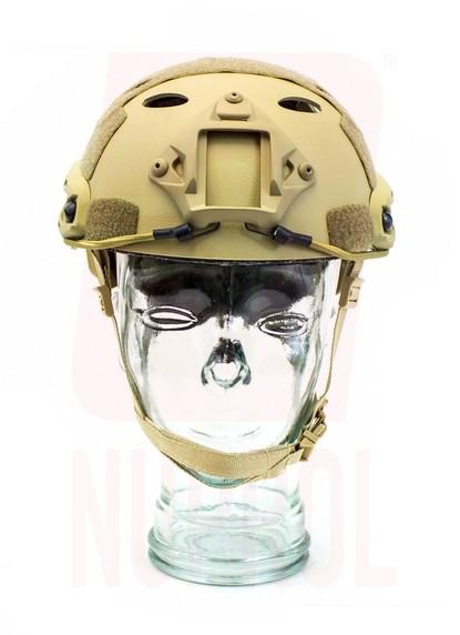 Nuprol tan helmet (front)