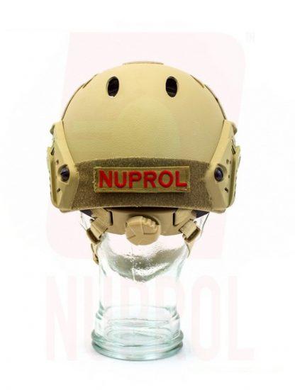 Nuprol tan helmet (rear)