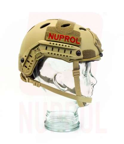 Nuprol tan helmet (side)