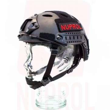 Nuprol black helmet