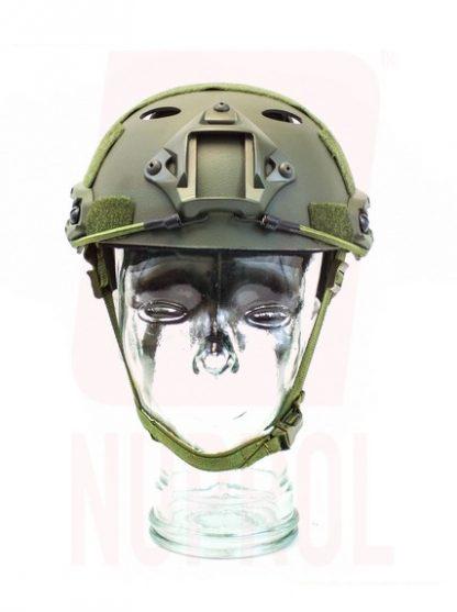 Nuprol olive helmet (front)