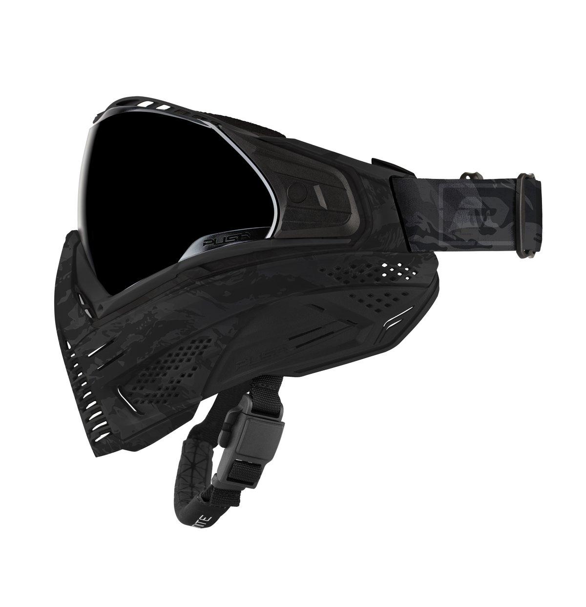 Push Paintball Black Camo Mask