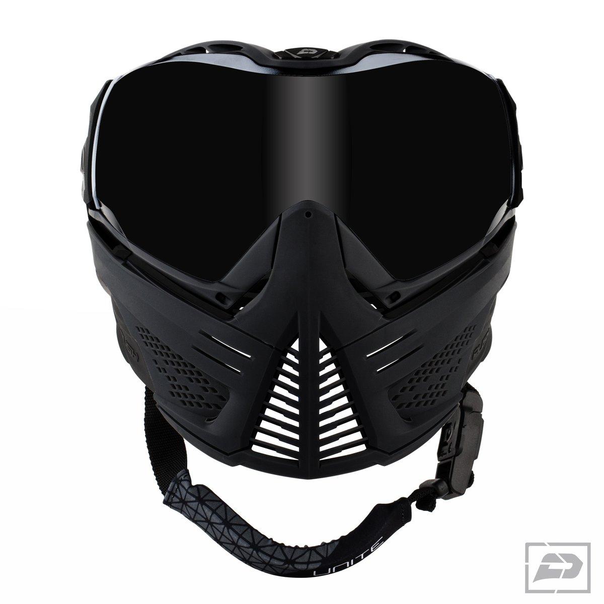 Push Paintball Black Mask