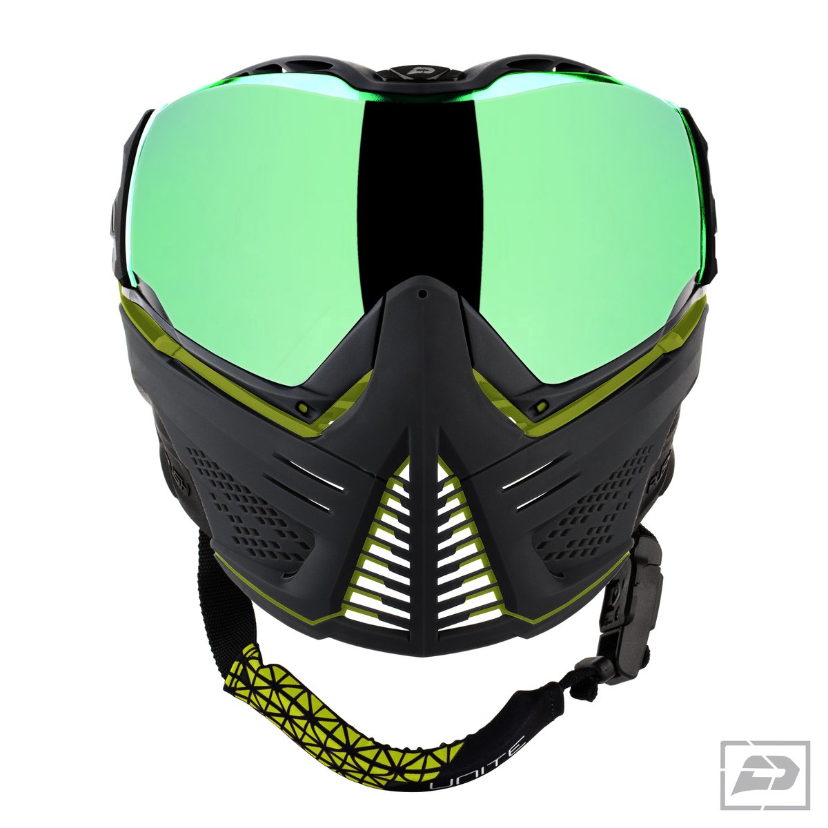 Push Paintball Lime Mask