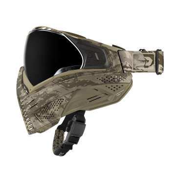 Push Paintball Tan Camo Mask