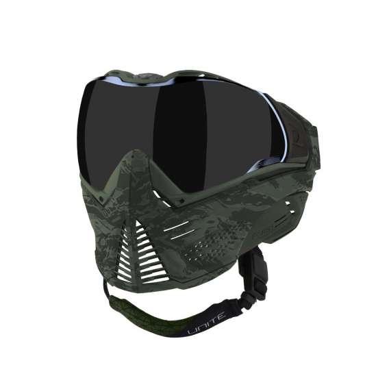 PUSH Green Camo mask