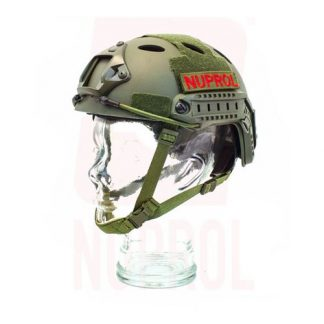 Nuprol NP Fast Railed Helmet Olive for Magfed