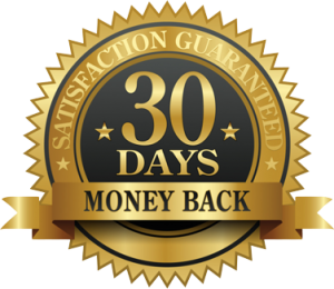 Satisfaction Guaranteed 30 Day Money Back - badge