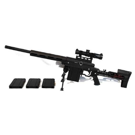 Carmatech SAR12c sniper rifel plus magazines