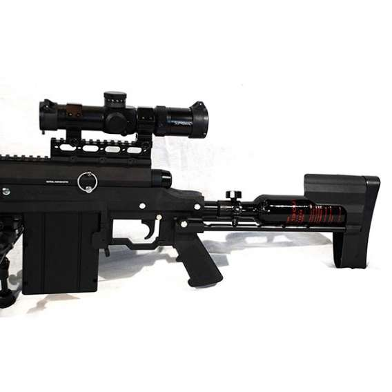 Carmatech SAR12c scope and stock sniper rifel