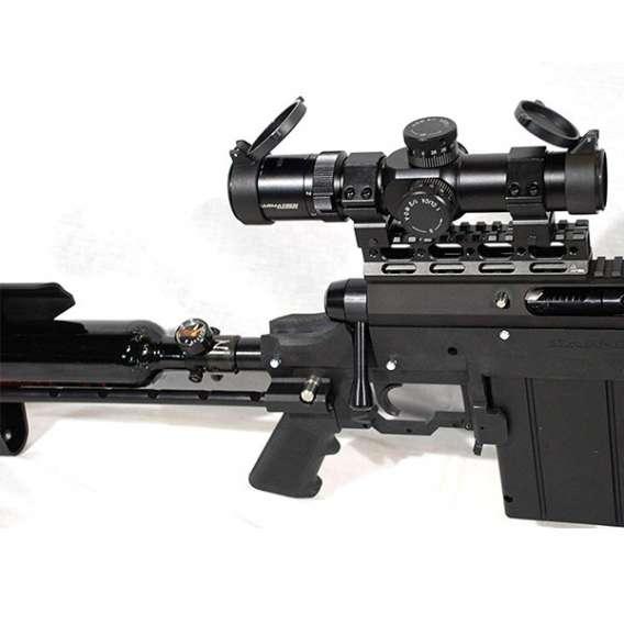 Carmatech SAR12c mag and scope sniper rifel