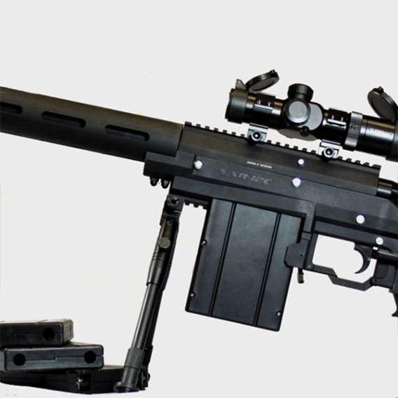 Carmatech SAR12c mag and bipod sniper rifel