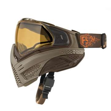 First Strike/Push Paintball Tan/Brown Mask