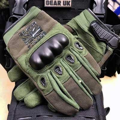 Battle Gear UK Olive Combat Gloves