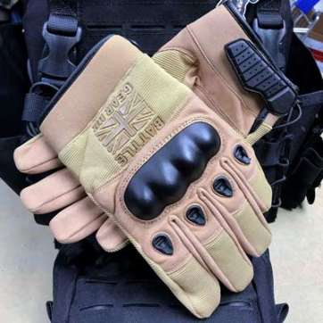 Battle Gear UK Tan Combat Gloves