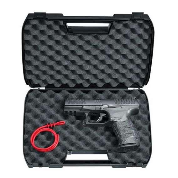 Umarex Walther PPQ M2 T4E Black Pistol in case