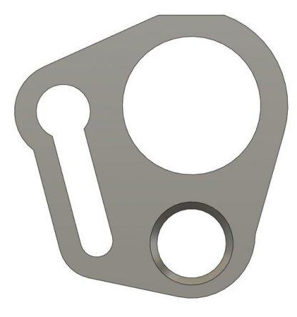 TSP Sling Eye Shaft Plate