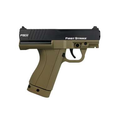 First Strike FSC Paintball Pistol in FDE