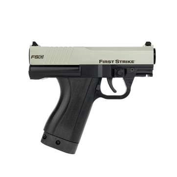 First Strike FSC Paintball Pistol in silver and black