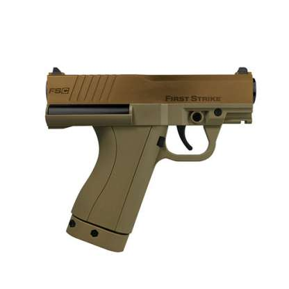 First Strike FSC Paintball Pistol in brown and tan