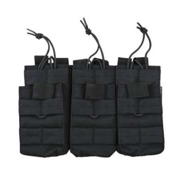 KombatUK triple mag pouch in black