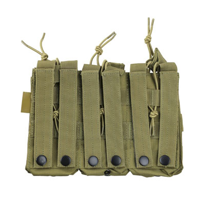 KombatUK triple mag pouch in coyote - rear