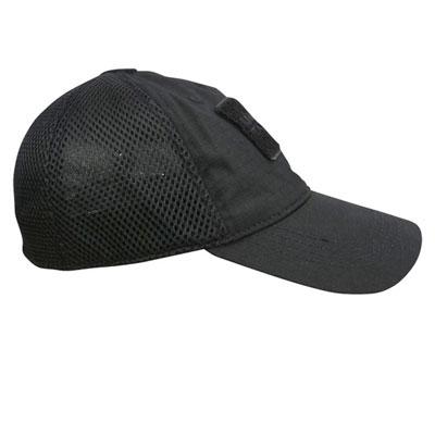 KombatUK MESH Operators Cap - Black (side)