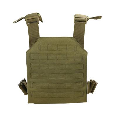 KombatUK Plate Carrier - Spartan - Coyote (back)