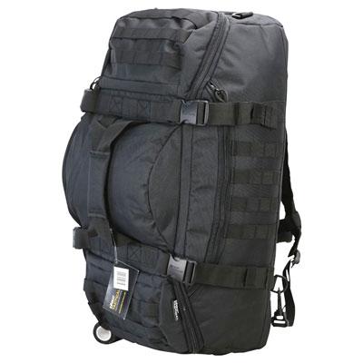KombatUK Duffle Bag - Operators 60 Litre - Black (side/top)
