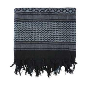 KombatUK Shemagh - Black & Grey