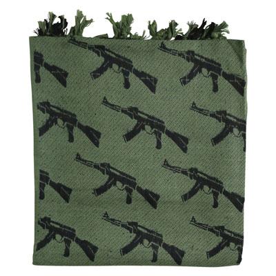 KombatUK Shemagh - Gun Olive Green