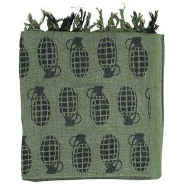 KombatUK Shemagh - Grenade Olive Green
