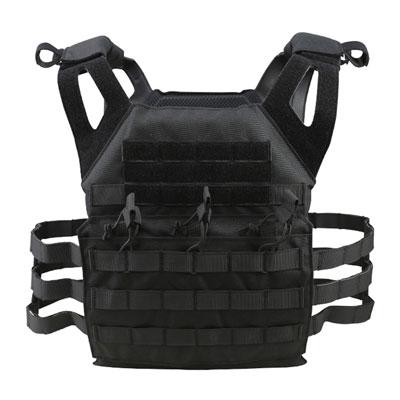 KombatUK Plate Carrier - Spec-Ops Jump - Black