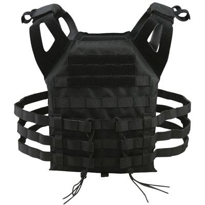 KombatUK Plate Carrier - Spec-Ops Jump - Black (back)