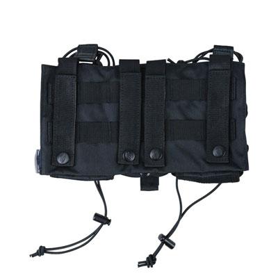 KombatUK modula mag pouch in black - back