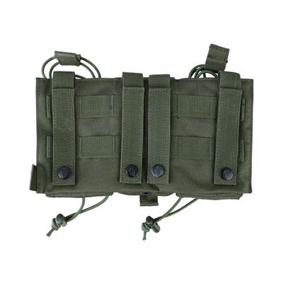 KombatUK modula mag pouch in olive green - back