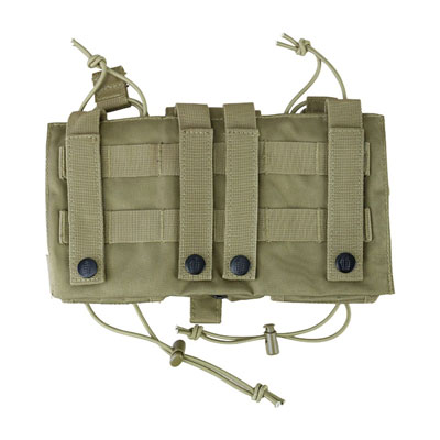 KombatUK modula mag pouch in coyote - back