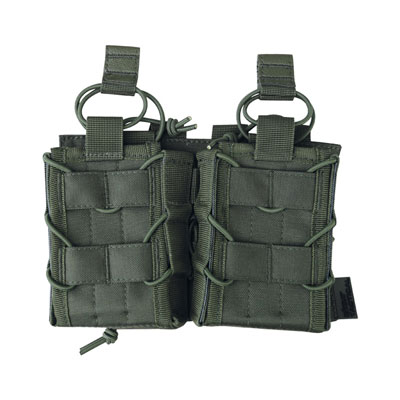 KombatUK Delta fast mag pouch in olive green