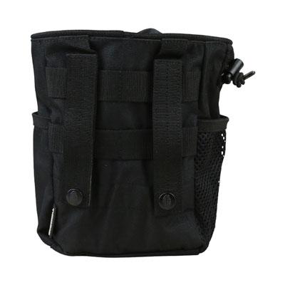 KombatUK Large Dump Pouch - Black (back)