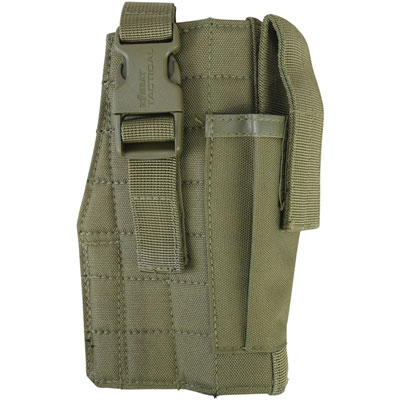 KombatUK Gun Holster with Mag Pouch - Molle - Coyote