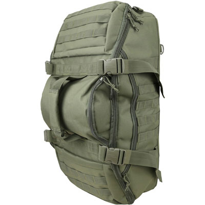 KombatUK Duffle Bag - Operators 60 Litre - Olive Green (side/top)