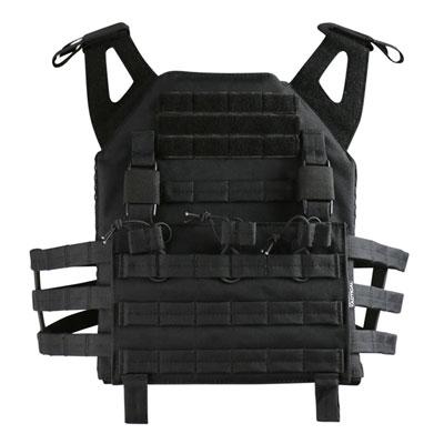 KombatUK buckle-tec plate carrier in black