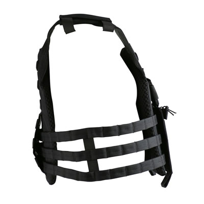 KombatUK buckle-tec plate carrier in black - side
