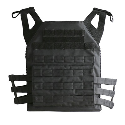 KombatUK buckle-tec plate carrier in black - rear