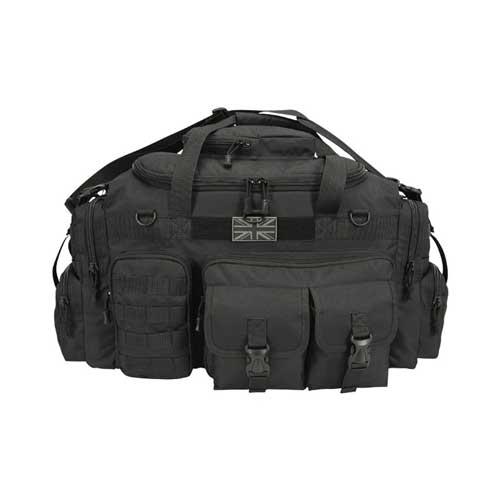 KombatUK Saxon Holdall - 65ltr - Black, front