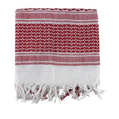KombatUK Shemagh - Red & White