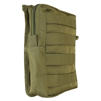 KombatUK Large Molle Utility Pouch - Coyote - side